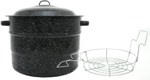 Granite ware water bath canner