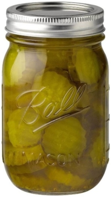 Ball mason canning jars