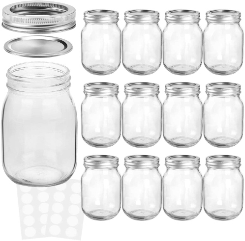 Kamota top quality canning jars