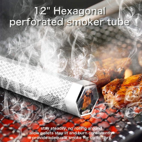 pellet tube for cold smoking