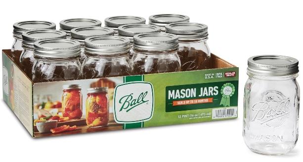 ball mason pickling jars