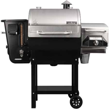 pellet food smoker for home cooking