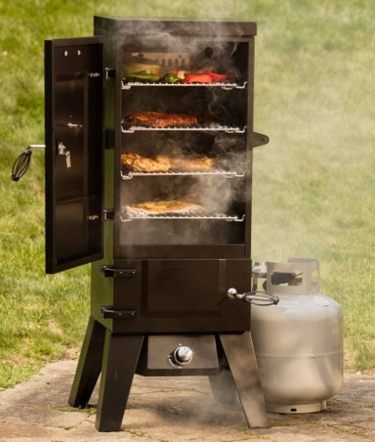 best gas food smokers for home
