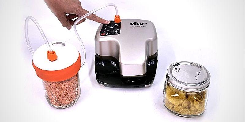 Oliso Freshkeeper Mason Jar Vacuum Sealer