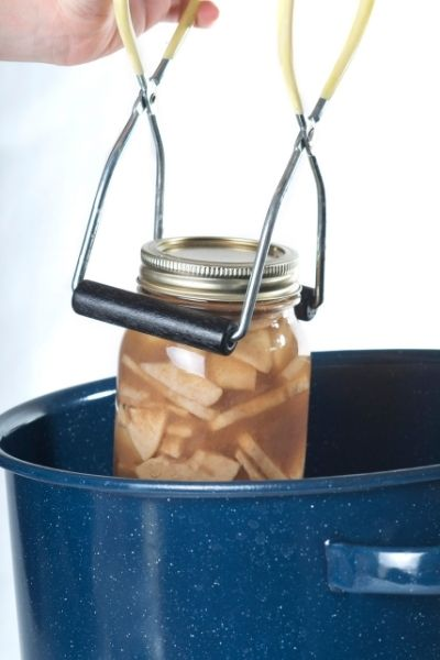 how to use a water bath canner